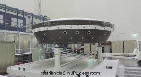 Primer vuelo platillo volante de la NASA