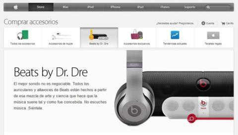 Beats en la Apple Store
