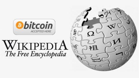 Wikipedia recibe 140.000 dólares en donaciones con Bitcoin, en sólo una semana.