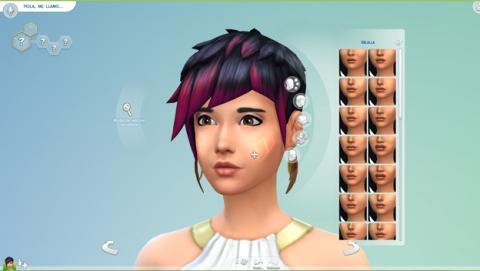 Descarga ya Los Sims 4 Crea un Sim Demo, el creador de Sims.