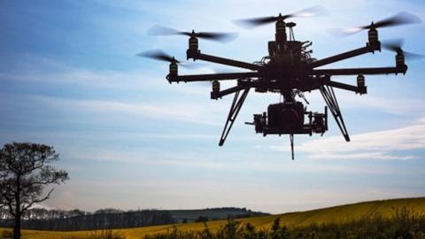 Los Mercenarios 3, primer film en usar drones en su rodaje