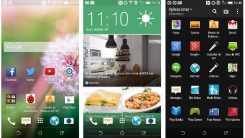Aplicaciones HTC desire 610