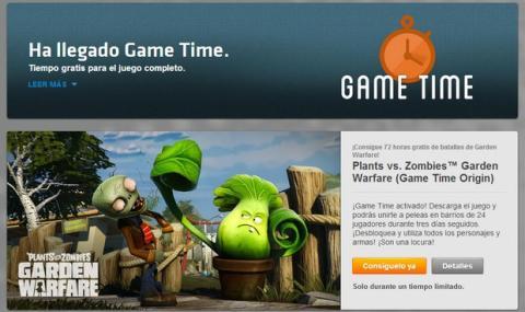Plants vs. Zombies Garden Warfare gratis en Origin