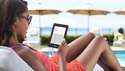 Nuevo Kindle Paperwhite 2014 con 4 GB de espacio de almacenamiento.