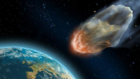 Un asteroide de un kilómetro de diámetro podría destruir la Tierra en el año 2880.