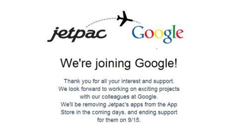 Jetpac se une a Google