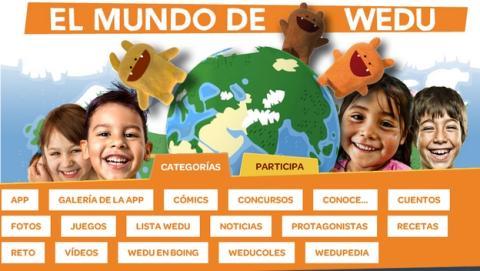 Apadrina a un niño con Wedu, el programa de Ayuda en Acción destinado al público infantil.