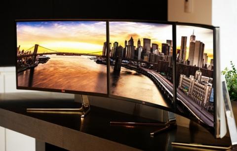 LG 34UC97, el primer monitor con pantalla curvada.