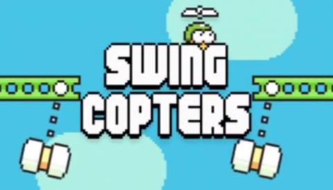 Swing Copter, así es el nuevo juego del padre de Flappy Bird