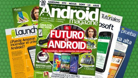 Android Magazine 33: a la venta en quiosco y edición digital