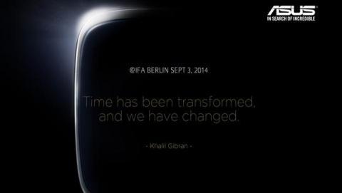 ASUS presentará en IFA 2014 su nuevo smartwatch