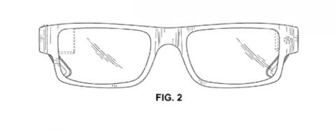 Google glass discretas