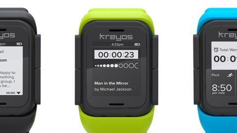 smartwatch kreyos crowdfunding
