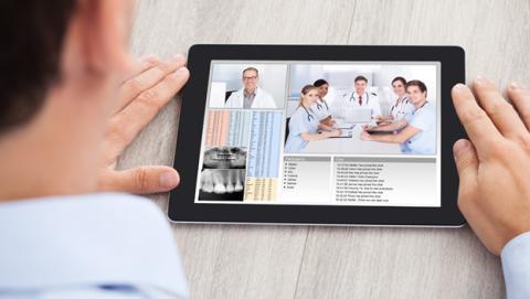 videoconferencia médico