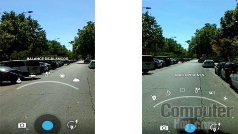 efectos de la cámara del Wiko Wax