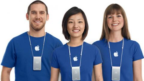 salarios empleados apple
