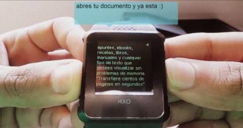 Smartwatch en exámenes