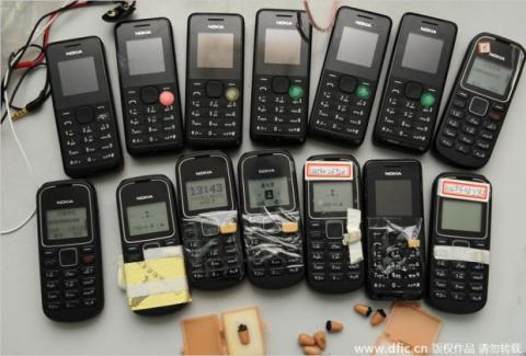 Copiar en los exámenes con móvil