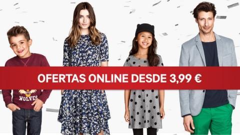 La cadena de tiendas de ropa H&M ya vende online en España, a través de su nueva tienda online.