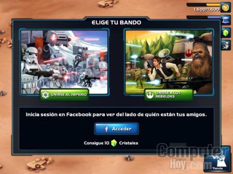 Star Wars Commander para iPhone y iPad