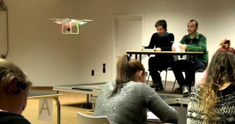 Drones para vigilar los exámanes