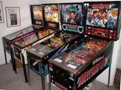 Maquinas de pinball