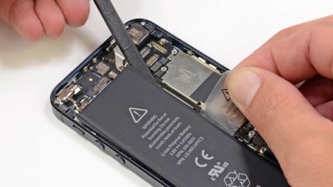 Apple reemplazará baterías de iPhone 5 tras detectar fallos