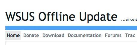 wsus offline