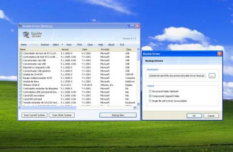 Double Driver Windows XP