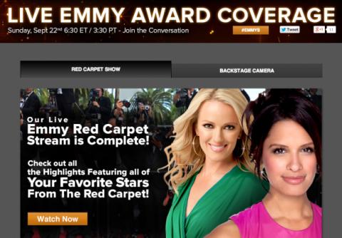 Ver los Emmy en la CBS