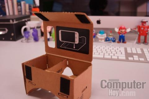 smartphone google cardboard