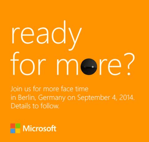 IFA 2014 Microsoft/Nokia