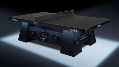 IFA 2014 Mesa de ping pong altavoces