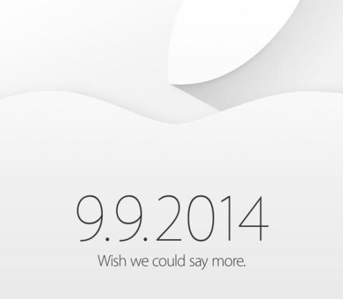 Apple presentación 9 septiembre