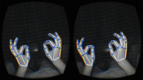 Leap Motion introduce add-on para Oculus Rift