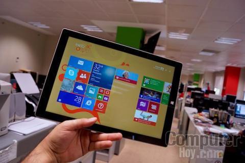 Microsoft Surface Pro 3 pantalla