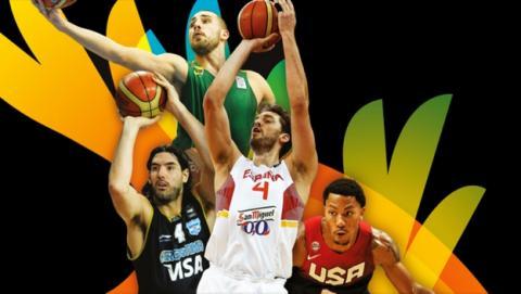 Dónde ver online y gratis todo el Mundial de Baloncesto 2014