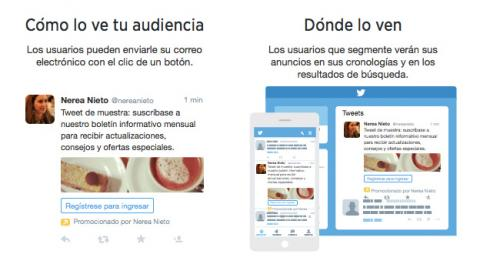 Clientes potenciales de Twitter