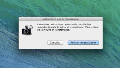 Captura de pantalla en Mac