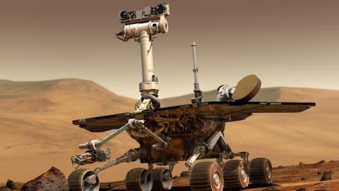Formatean la memoria Flash de 256 MB del robot Rover, el Oportunity... a 200 millones de Km en Marte.