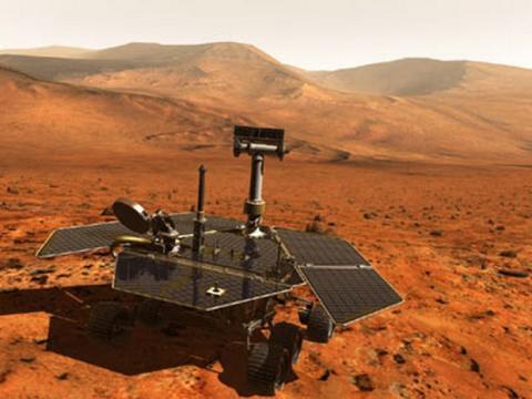 Formatean memoria Flash robot Rover en Marte