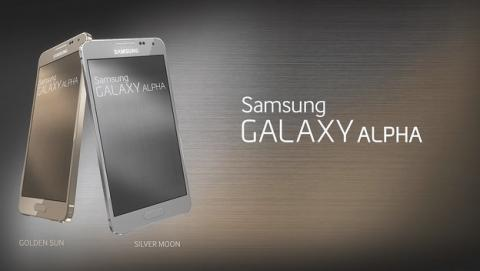 Samsung explica el diseño del borde de metal del Samsung Galaxy Alpha.
