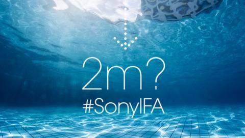 Sony en IFA 2014: Sony Xperia Z3 podría ser sumergible a más de 2 metros.