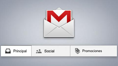 Pestañas de Gmail