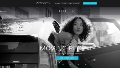 Uber, la app para encontrar chófer que ha provocado la huelga de taxistas, prohibida en Alemania.