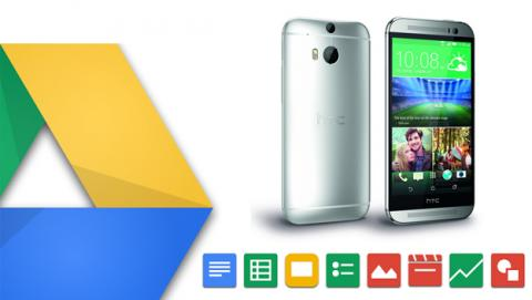 google drive htc one m8