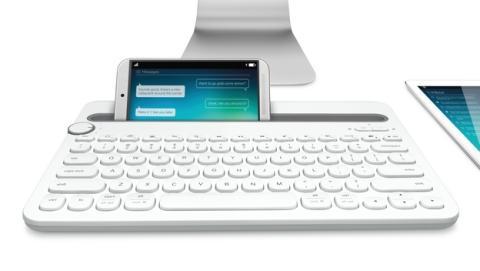 Logitech K480, el teclado para PC, smartphone y tablet y ratón M280 en IFA 2014