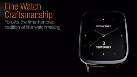 Asus ZenWatch, presentado el primer smartwatch de Asus