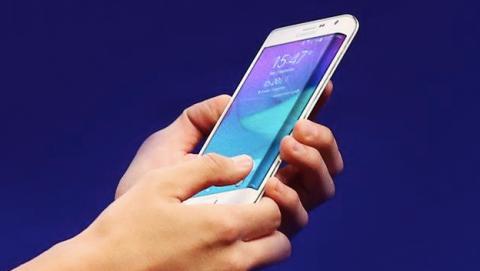 Samsung galaxy note edge pantalla curvada