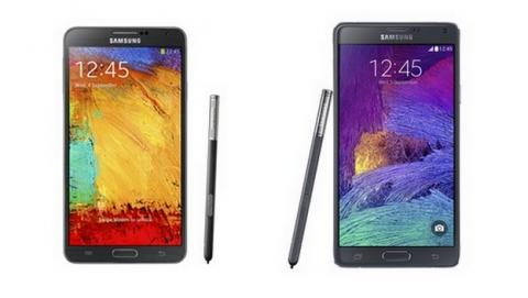 Samsung Galaxy Note 4, comparativa con el Galaxy Note 3